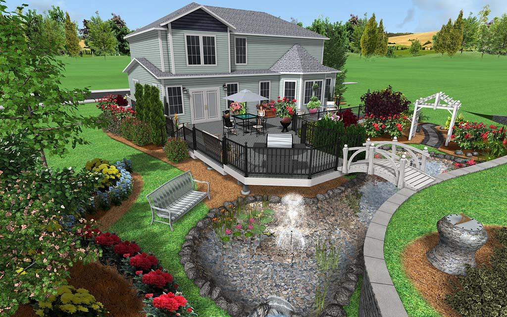 Как спланировать участок загородного дома фото